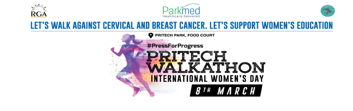 Book Online Tickets for PRITECH WALKATHON, Bengaluru. We are overwhelmed with the response . We are offering tickets for Rs. 500 only for next 100 tickets. Register now..Hurry up Walk For The Woman Walkathon in Pritech Park Let\'s gather to raise fund to protect Women from Cancer. Join hands to Educate