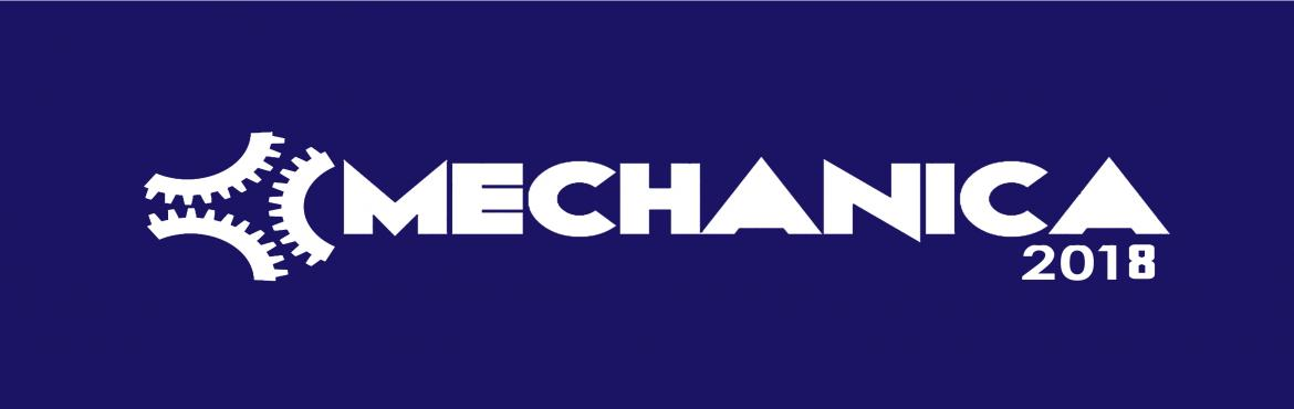 Book Online Tickets for MECHANICA 2018, Chennai. The Annual Research and Technology extravaganza of the Department of Mechanical Engineering at IITM or Mechanica is the biggest event of the Mechanical Engineering Associaition (MEA) OF IIT Madras. Over the years, it has built it\'s own legacy and re