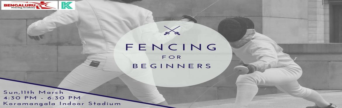 Book Online Tickets for Fencing for Beginners, Bengaluru. Fencing is a super fun and agile medieval sport and a brilliant workout which emphasizes on power and precision along with agility.The beauty of this workshop is the techniques are curated especially for who are just starting to explore fencing.