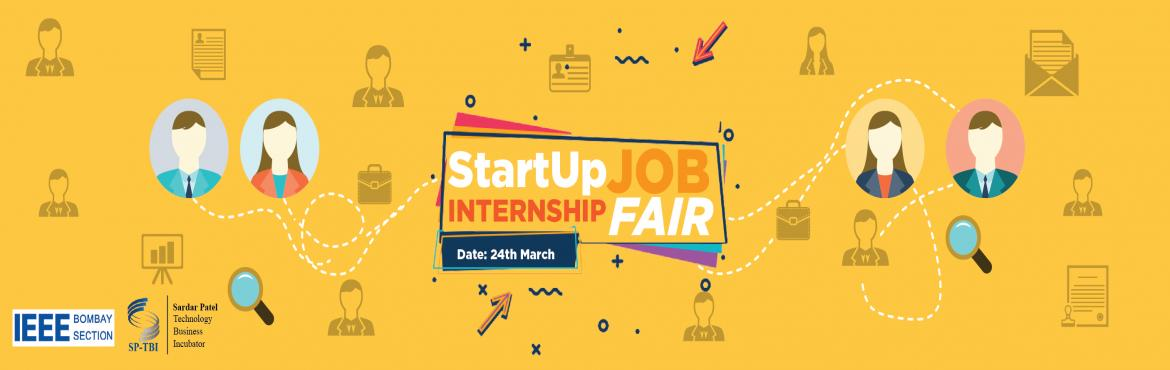 Book Online Tickets for Startup Job Internship Fair 2018, Mumbai. Looking for a place to grow, learn and earn? Yes that's what we thought. Sardar Patel Technology Business Incubator in collaboration with IEEE and SPIT is organizing a Job Internship fair for students who want to work at the next Ola, Zoma