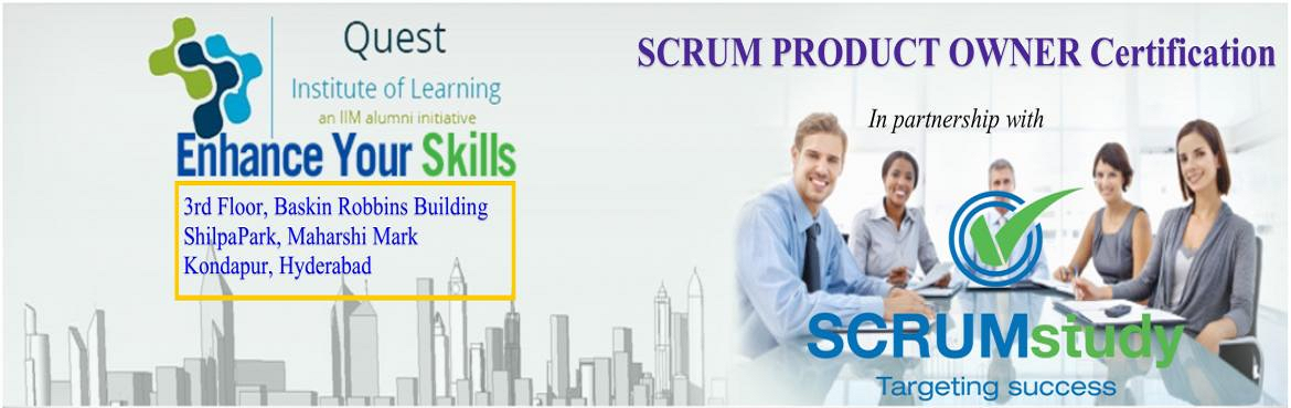 Book Online Tickets for Scrum Product Owner Training and Certifi, Hyderabad. The Product Owner represents the interests of the stakeholder community to the Scrum Team. The Product Owner is responsible for ensuring clear communication of product or service functionality requirements to the Scrum Team, defining Acceptance Crite