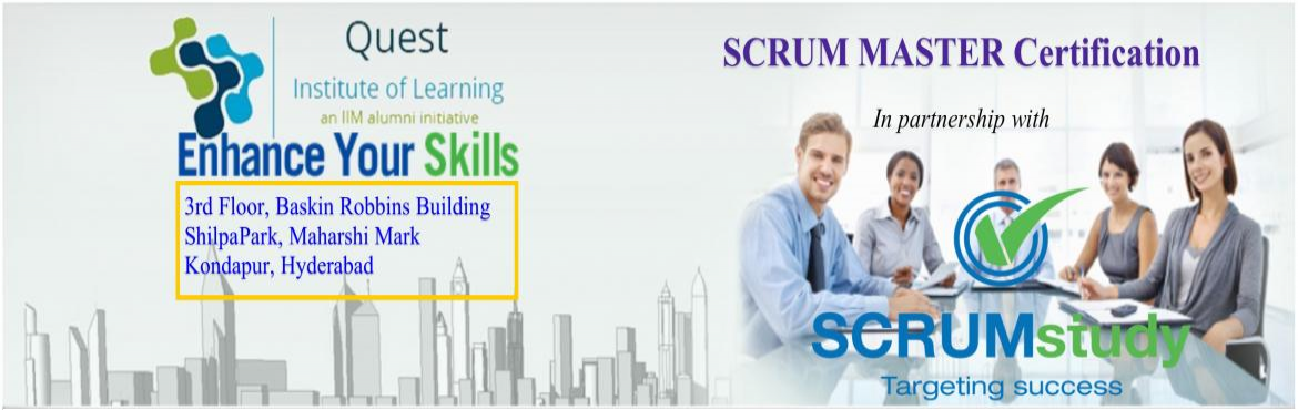 Book Online Tickets for Scrum Master Training and Certification, Hyderabad. Scrum Master Certified (SMC™) professionals are facilitators who ensure that the Scrum Team is provided with an environment conducive to completing the project successfully. The Scrum Master guides, facilitiates, and teaches Scrum practices to