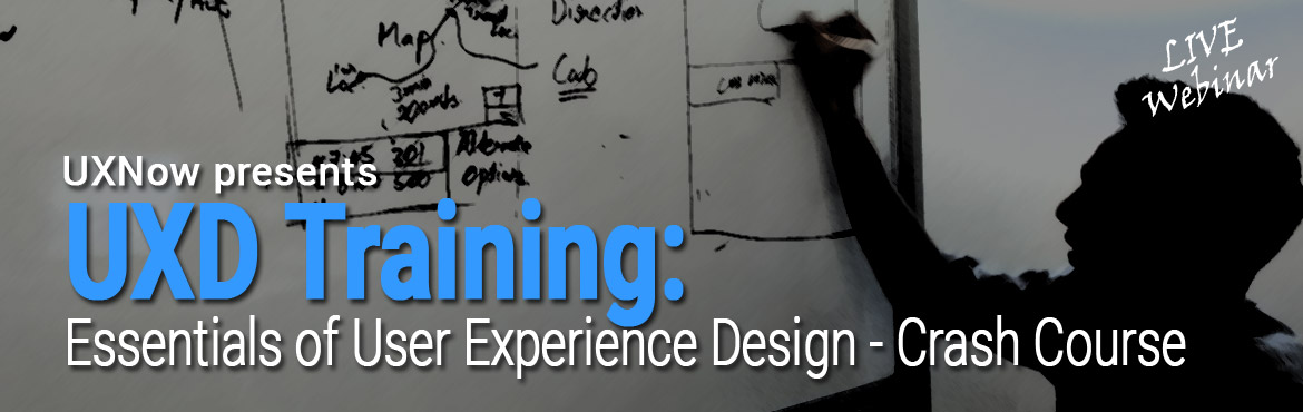 Book Online Tickets for Essentials of User Experience Design (Cr, Chennai. This is a 2 day paid workshop - Online.(24th, 25th March. - 9.30 am - 1.30 pm IST - each day 4 hrs). Max. 10 registrations only!  In this workshop participant will understand all the essential aspects of User Experience. Step by step appr