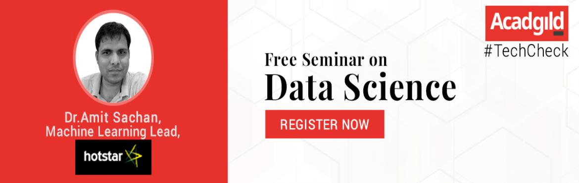 Book Online Tickets for TechCheck: Shaping your Career with Data, Bengaluru. Want to know how data is being used by businesses, or interested in learning what the future holds for Artificial Intelligence (AI)? Here's your chance to engage in fruitful conversation with leading data science practitioners to find out! &nbs