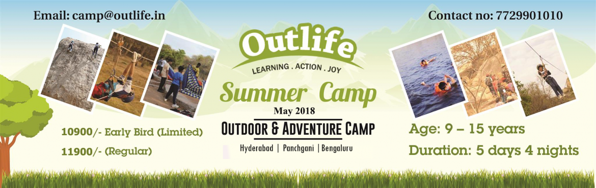 Book Online Tickets for Summer Camp For Kids 2018 at Natventure , Pune. About The Event 5 Days 4 nights \