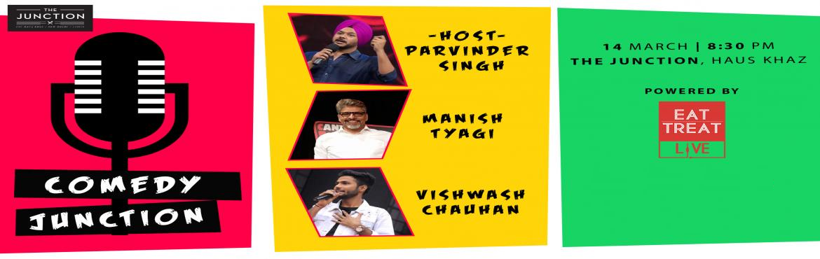 Book Online Tickets for Comedy Junction w// Manish Tyagi / Vishw, New Delhi.  Vishwash:The finalist of the Great Indian Laughter Challenge 2017, Vishwash Chauhan drives comedy from his day to day observations and experiences. He has performed across the country and made people laugh through a variety of different shows.M