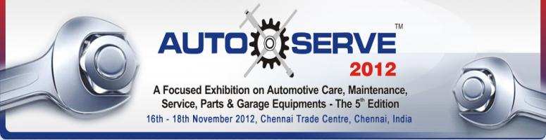 Book Online Tickets for Auto Serve 2012, Chennai.  