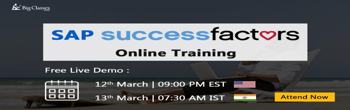 Book Online Tickets for Become a Professional SAP SuccessFactors, London.  What is SAP SuccessFactors?  SAP SuccessFactors is an acquired multi-national corporation that works on Software as a Service (SaaS) model. This unit of SAP provides cloud-based Human Capital Management (HCM) software solutions. The SAP