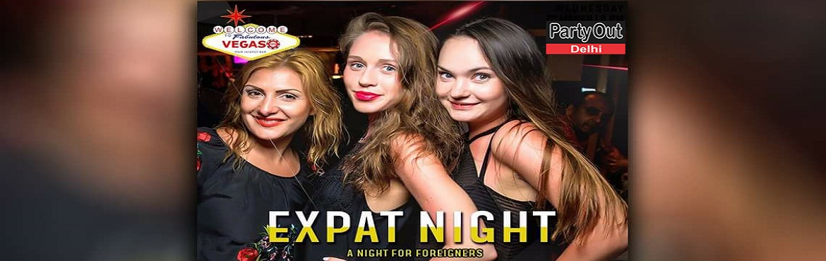 Book Online Tickets for Expat Night  - Beer, Cocktails n Mocktai, Gurugram. Come Wednesday evening, and Vegas 99 will open its doors especially for you, dear expats! Bring your gang here and enjoy beer, cocktails and mocktails on the house!  Be at Vegas 99, SCO21, Sector 29, Gurgaon, 8pm Onwards... Contact Simran,