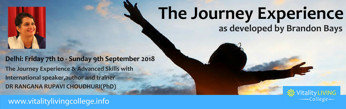 Book Online Tickets for The Journey 3 day Healing Seminar with A, New Delhi. The Journey Healing Seminar with Advanced Skills   How often have you been faced with an unexpected turn of events? How many times has life taken sharp turns and left you feeling lost? In these moments could you imagine a worse feeling than help