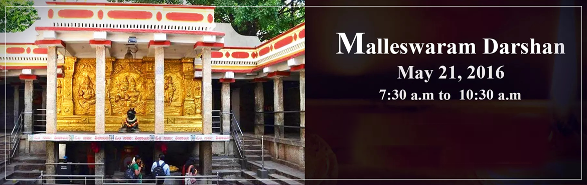 Book Online Tickets for Malleswaram Darshan, Bengaluru. This is our new walk in one of the oldest suburbs of the \