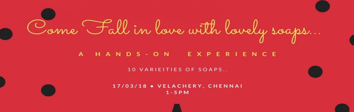 Book Online Tickets for Hands-on SOAP workshop, Chennai.  Swakrith presents Luxurious & Designer Bath soaps hands on training of 1 soap from each variety will be taught.** Introduction of raw materials1)) Herbs & spice glycerine soap2)) Fruity soap3) Layered charcoal soap4) Loofa soap** Design