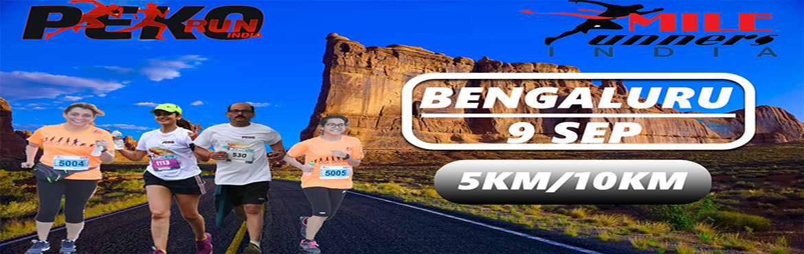 Book Online Tickets for Peko run India (BENGALURU) , Bengaluru. Welcome to Peko Run India, Peko Run is a running event happening at pan India level  in different cities back to back. We support our Sports NGO where we support childrens who are good in sports but lacking behind due to financial problems. Come