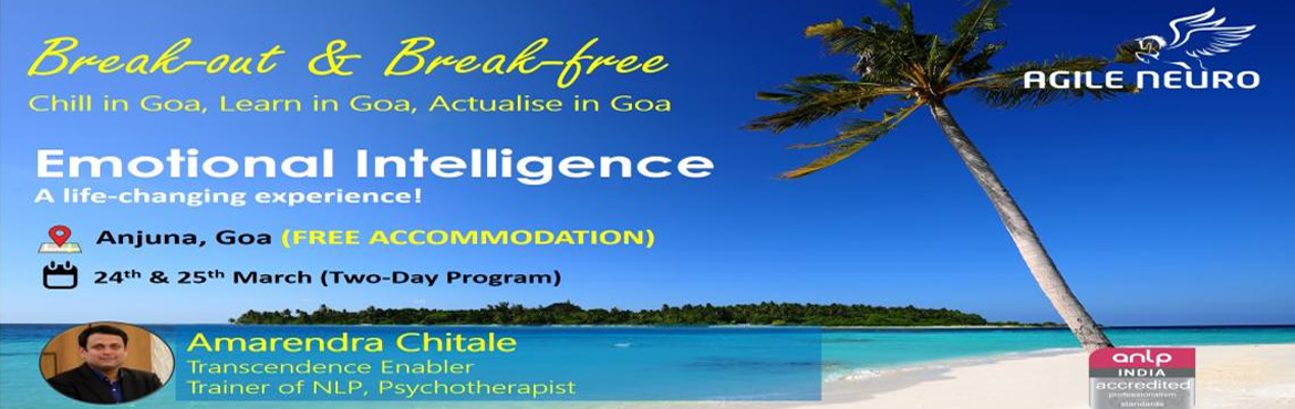 Book Online Tickets for Emotional Intelligence Certification in , Anjuna.  This insightful and activity based program will provide you with the opportunity to identify your own challenges in maintaining positive environments and collaborative relationships around you. It explores the importance of emotional quotient