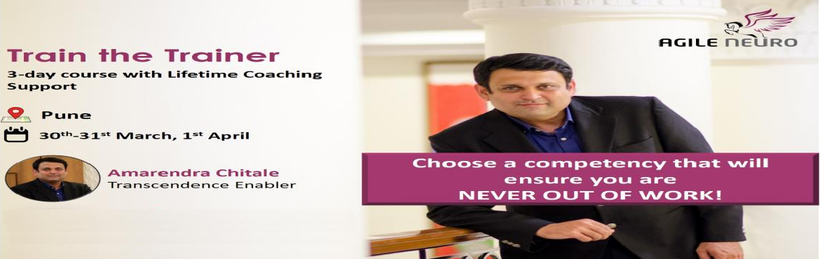 Book Online Tickets for Train the Trainer (Pune) (the NLP way), Pune. Course Outline:  A trainer, a mentor, a coach, a teacher wakes up every morning with determination and goes to bed satisfied, all it takes is the ability to bring out the best in your students, whatever their age. As a trainer, you need to have