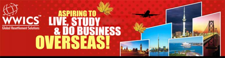 Book Online Tickets for Free Immigration Seminars in Chennai , Chennai. The time to realize your long cherished dreams of settling abroad is all set to come true now with new immigration rules for Canada and Australia announced with effect from July 1, 2012. So what are you waiting for, come and attend WWICS Free Mega Se