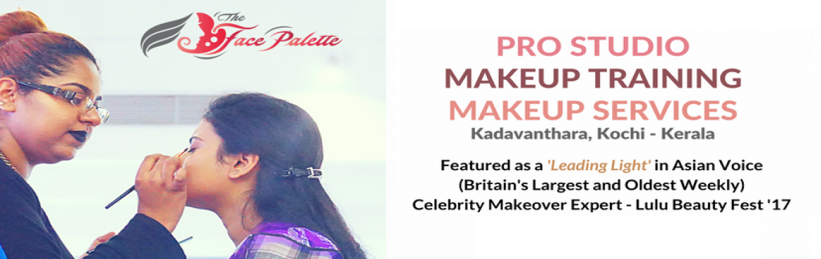 Book Online Tickets for London Certified 1 Day Self Makeup Works, Ernakulam. This workshop is conducted by Lulu Beauty Fest Celebrity makeup expert, Lekshmi Menon, who was also recently featured as a Leading light by Asian Voice, which is Britain\'s oldest and largest newsweekly as Lekshmi\'s makeup style is a fusion of India