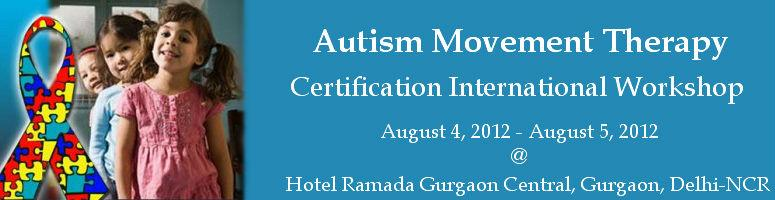 Book Online Tickets for Autism Movement Therapy® Certificatio, Gurugram. SOCH, Gurgaon, India in collaboration with Autism Movement Therapy® (AMT) Inc, USA is organizing Autism Movement Therapy® Certification International Workshop for the first time in India. Communication deficits are one of