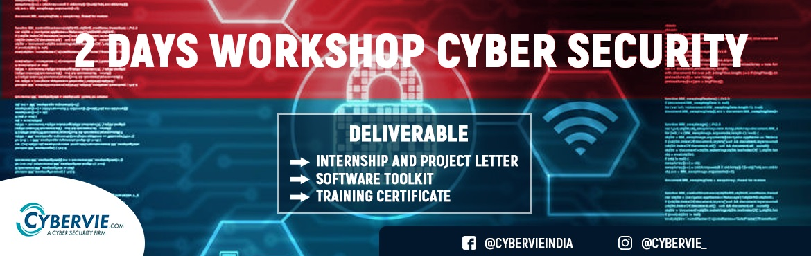 Book Online Tickets for Ethical Hacking Workshop Hyderabad, Hyderabad.  We #Cybervie a Cyber Security Team - Organizing a Weekly Boot Camp. Encourage Beginners with an 02 Day Boot Camp to Know...     91-9948-292-292       #How to Build Career into #CyberSecurity Industry?         Topics Covered
