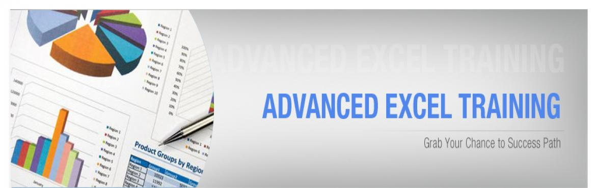 Book Online Tickets for Advanced Excel With Pivots, Charts And M, New Delhi.  Description The Advanced Excel Course is designed for executives who are already familiar with the basics of Microsoft Excel, and who would like to work with more advanced features of Microsoft Excel