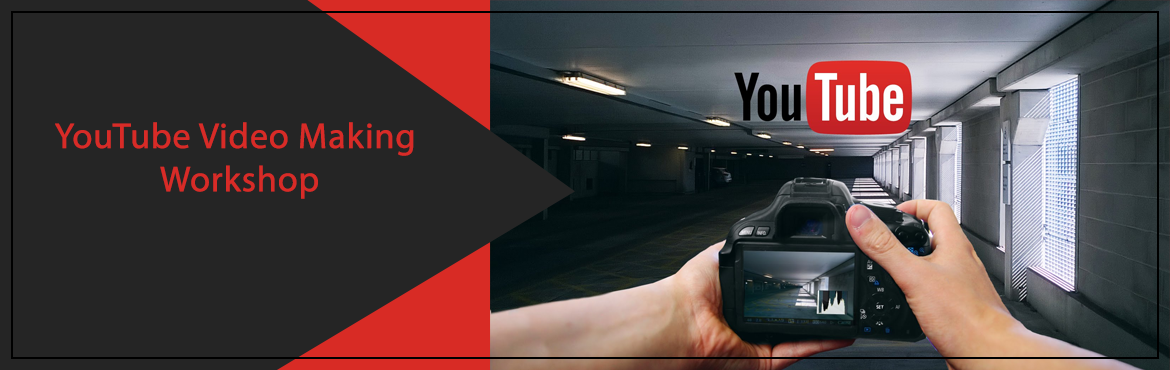 Book Online Tickets for YouTube Video Making Workshop 2, Hyderabad. This is a full day workshop designed for people who aspire to become YouTube content creators / YouTubers!Topics covered :Influence of Internet and YouTubeAdvantages of video ContentSuccessful stories on YouTube platformEquipment and Techniques