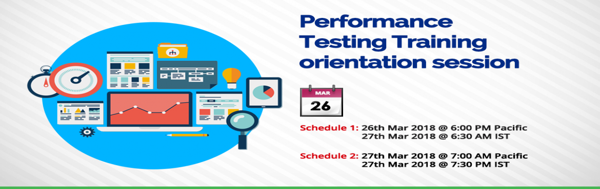 Book Online Tickets for  Performance Testing Training, Hyderabad. Performance Testing with HP LoadRunner (Basic + Advanced) Training Learn all the basic and advanced performance testing concepts with hands-on practical examples. The course syllabus is designed by considering the current job market trends and