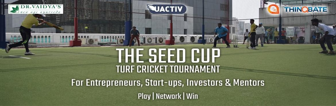 Book Online Tickets for SEED Cup 2.0 - Turf Cricket Tournament, Mumbai.  Giving entrepreneurs & start-ups a sporting platform to connect, network and build meaningful relationships with industry veterans. This is an opportunity for all sports enthusiasts to meet like-minded visionaries from the start-up and