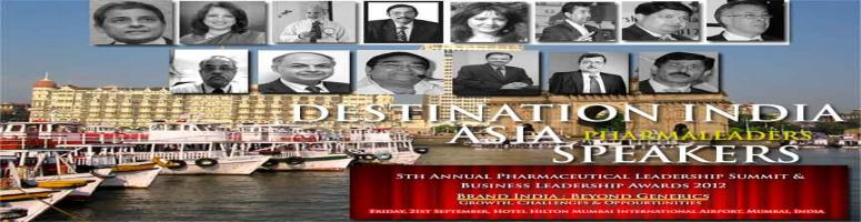 5h Annual Pharmaceutical Leadership Summit & Business Leadership Awards 2012