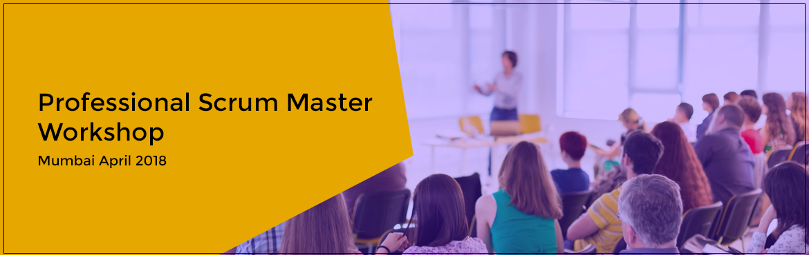Book Online Tickets for Professional Scrum Master Workshop Mumba, Mumbai. About Professional Scrum Master™ (PSM) Workshop: Scrum Masters need to a have in-depth knowledge and understanding of Scrum values and practices. Professional Scrum Master™ (PSM) helps to set a solid foundation of Scrum. It covers the bas