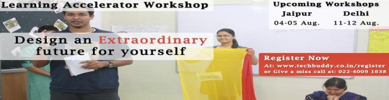 Book Online Tickets for Learning Accelerator Workshop Delhi, Jai, Jaipur. A 2 Day experience designed to transform your learning for a positive paradigm shift in your work & life