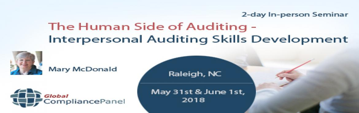 Book Online Tickets for    Human Side of Auditing - Interpersona, Philadelph.         Course \