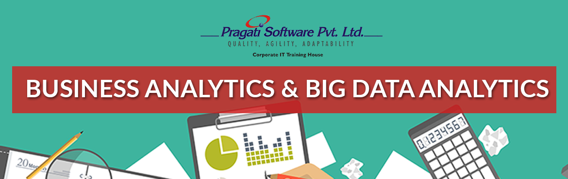 Book Online Tickets for Business Analytics and Big Data Analytic, Mumbai. What is Business Analytics? Business analytics is how organizations interpret data in order to make better business decisions and to optimize business processes. Analytical activities are expanding fast in businesses, go