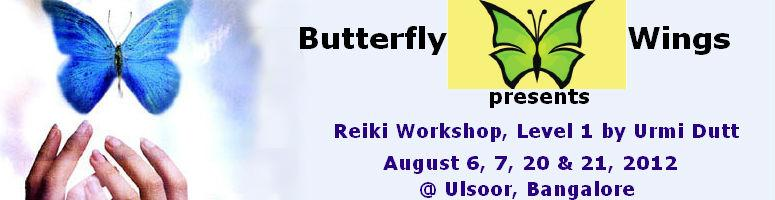 Reiki Workshop, Level 1 by Urmi Dutt