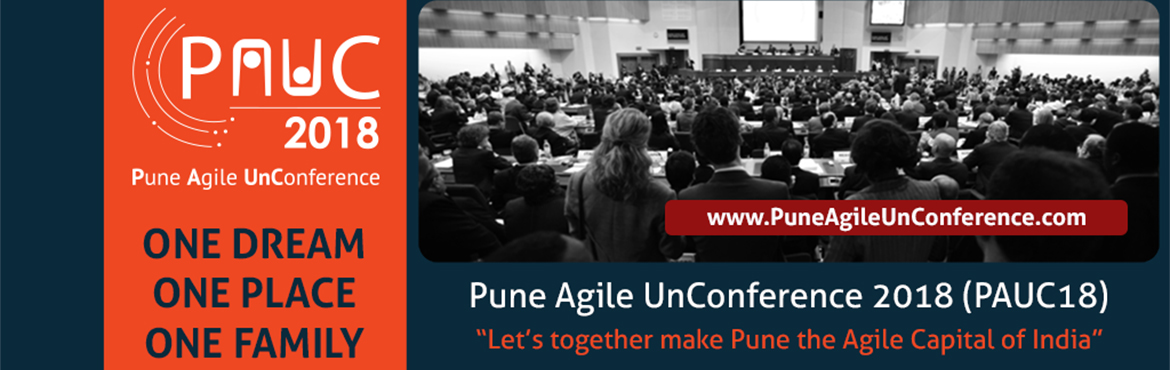Book Online Tickets for Pune Agile UnConference 2018 (PAUC18), Pune. Scale Up Consultants presents a one-day extravaganza of Agile Knowledge sharing.  *****************************************  PUNE AGILE UN-CONFERENCE 2018 (PAUC18):  ***************************************** PAUC18: