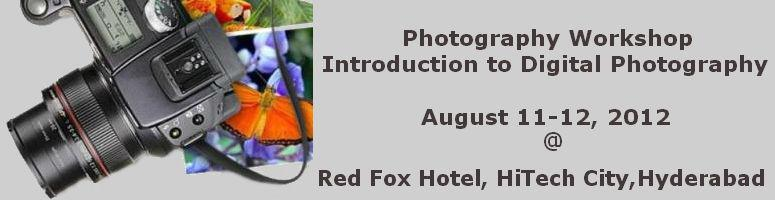 Photography Workshop - Introduction to Digital Photography