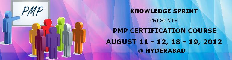 PMP Training & Certification Speed Prep Course in Hyderabad - 2 Days