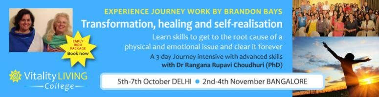 The Journey Seminar with Rangana Rupavi Choudhuri (Bangalore Nov 2nd, 3rd, 4th)