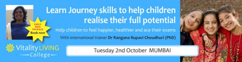 Liberating Kids Shinning potential - workshop to work with children - Oct 2nd Mumbai