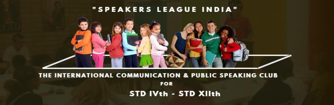 Book Online Tickets for A Free Event- Communicate and Connect, Kolkata. Speakers League is a Communication and Public Speaking Club of USA. Study Group is the Indian Charter Holder. In the First Phase, Speakers League India Club (SLIC) Kolkata Chapter will be operating from Gariahat, Santoshpur and Bhawanipore Centres. E