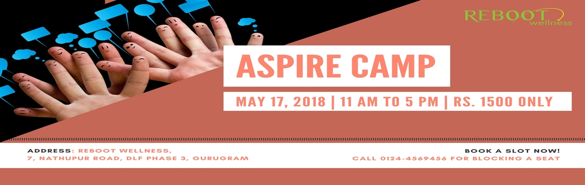 Book Online Tickets for Aspire Camp, Gurugram. Internet, social media and online gaming play a big role in mental development of kids of current time. Exposure to information over the Internet and other electronic media is good only up to a certain extent. However, over-exposure is making our kid