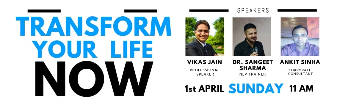 Book Online Tickets for Motivational Speaker Vikas Jain speaking, New Delhi. About Vikas Jain Vikas Jain is an Author, Global Professioal Speaker. He is also the founder of Adhyan World. He is rated among the top Motivational Speakers and Keynote Speakers in India and abroad. He has delivered programs for various corporations