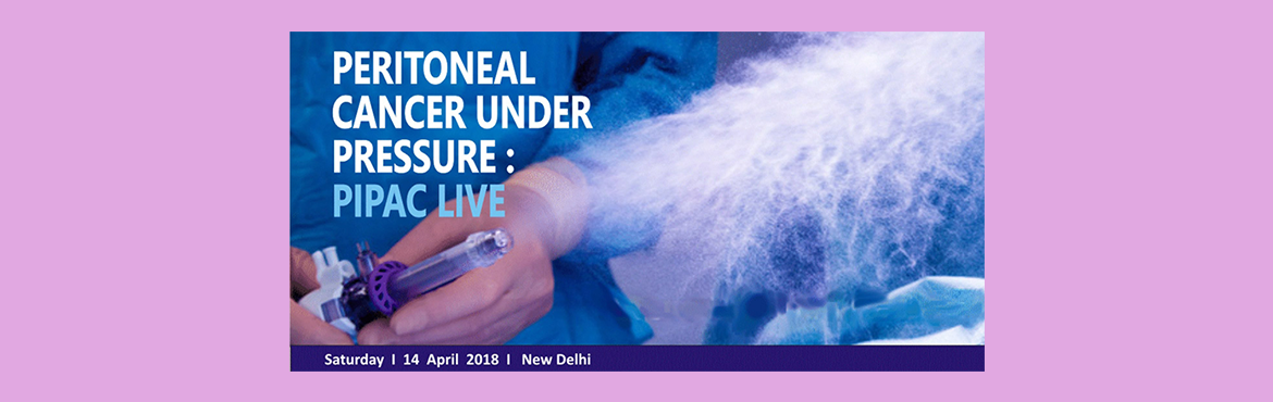 Book Online Tickets for Peritoneal Cancer Under Pressure: Live D, New Delhi.   BCPBF The Cancer Foundation, in collaboration with Apollo Cancer Institute, New Delhi is hosting the first PIPAC live demo in India on 14th April 2018 in Delhi. This single day event will be a unique opportunity to watch a live