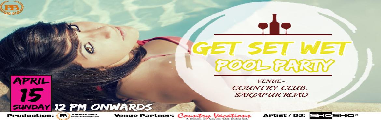 Get Set Wet Pool Party