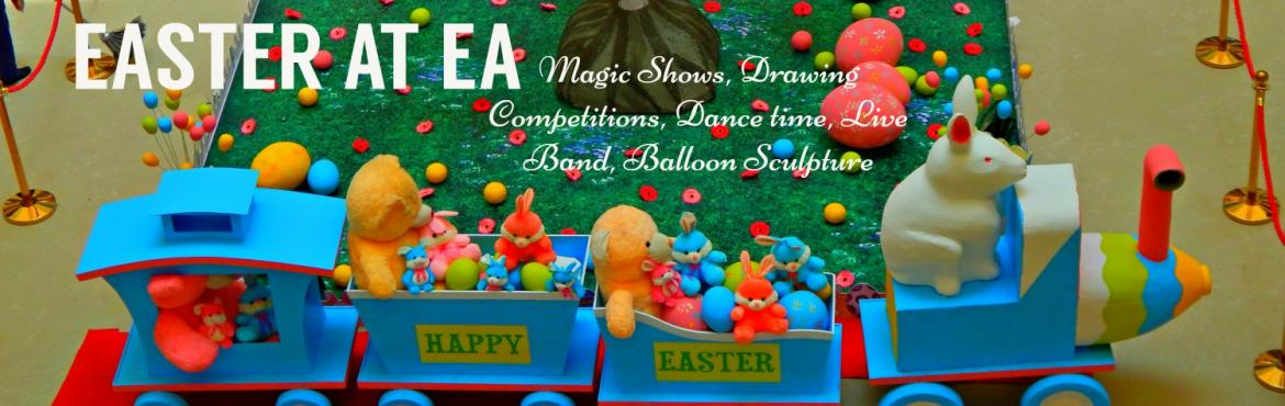 Book Online Tickets for Kids Drawing Competition at EA - Free Pa, Chennai. Children of all ages love to paint! Celebrate Easter Fun and Art with a Difference.Where: Express Avenue Mall, ChennaiWhen: 1st AprilTime: 12 p.m. to 5 p.m.Call: 044 - 28 46 46 46 Only at EA – a place to be expressive and creative.Materials wil