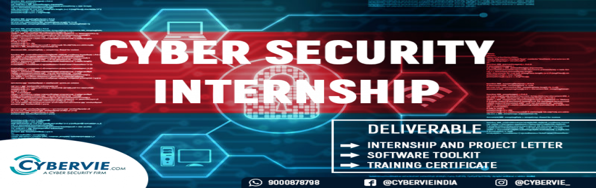 Book Online Tickets for  cyber security intenship , Hyderabad.   How to perform the Website Vulnerability Assessment with Manual, Automation and     Creation of the reports.   Information Assurance team is Responsible to Define the Scope and Objectives for  Penetration Testing