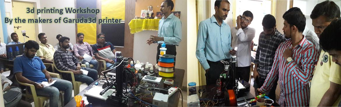 Book Online Tickets for Free 3d Printing Workshop - By The Maker, Hyderabad. Get into 3d printing with professionalsIn this workshop participants will learn and explore the fundamentals of 3D printing—from ideas to printed things.Topics will include:What is 3D printing: a basic introduction to the various processe