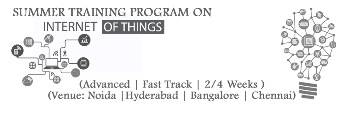 Book Online Tickets for Summer Training on IoT-Internet of Thing, Bengaluru. Innovians TechnologiesPresents 2 Weeks /4 Weeks Advanced Fast Track Summer Training on IoT- Internet of Things. India's first extensive core technical course on IoT for Students.  Training Highlights:   Advan