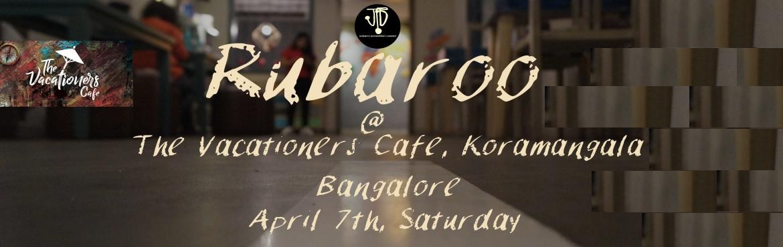 Book Online Tickets for Rubaroo Bangalore, Bengaluru. Rubaroo literally translates to \