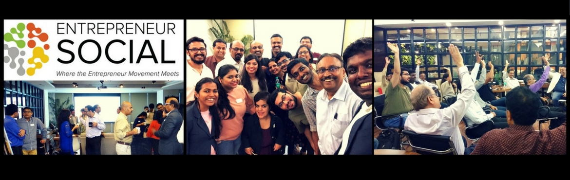 Book Online Tickets for Entrepreneur Social - A Networking Event, Andheri.   Join Entrepreneur Social & Become a part of a Growing and Vibrant Community of Purpose Driven Entrepreneurs.   Entrepreneur Social is a monthly networking event, a part of Roger Hamilton\'s International Entrepreneur Institute. Hosted