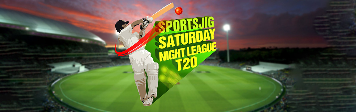 Book Online Tickets for SportsJig Saturday Night League T20, Mumbai. First Pink Ball Night Cricket League! Come and be a part of the cricketing revolution with SportsJig Saturday Night League starting April 2018! -Saturday Night T20 Matches on private grounds-Pink Ball Cricket in White Flannels with SportsJig DRS (Dec